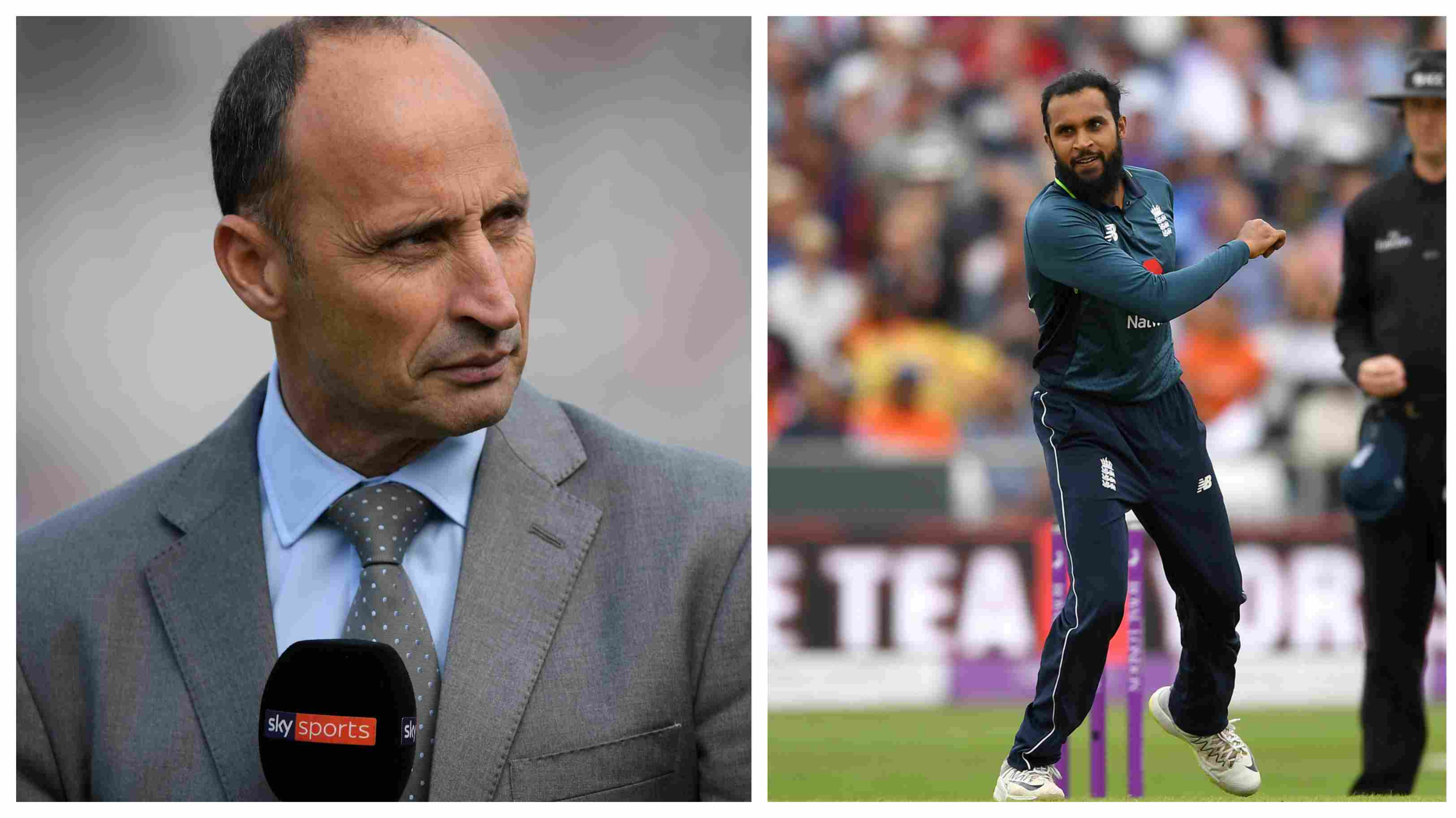 ENG v IND 2018: Nasser Hussain issues warning against Adil Rashid's Test call up