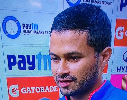 Aditya Tare was named Man of the match in the finals for his 71