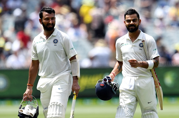 Pujara and Kohli shared a 170-run stand for the third wicket at MCG | Getty