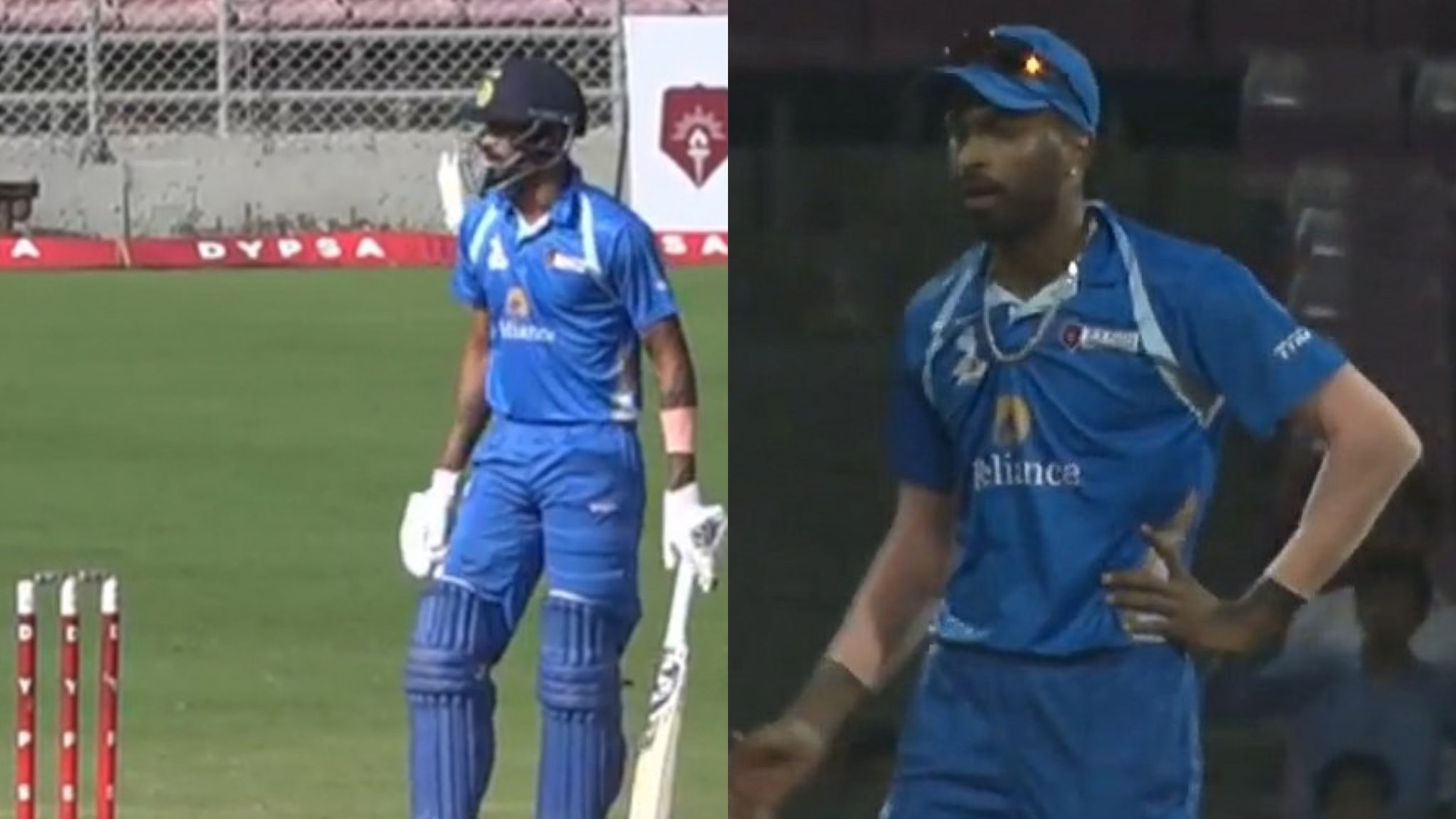 WATCH- Hardik Pandya returns to cricket, hits 4 sixes and takes three wickets in DY Patil T20 Cup