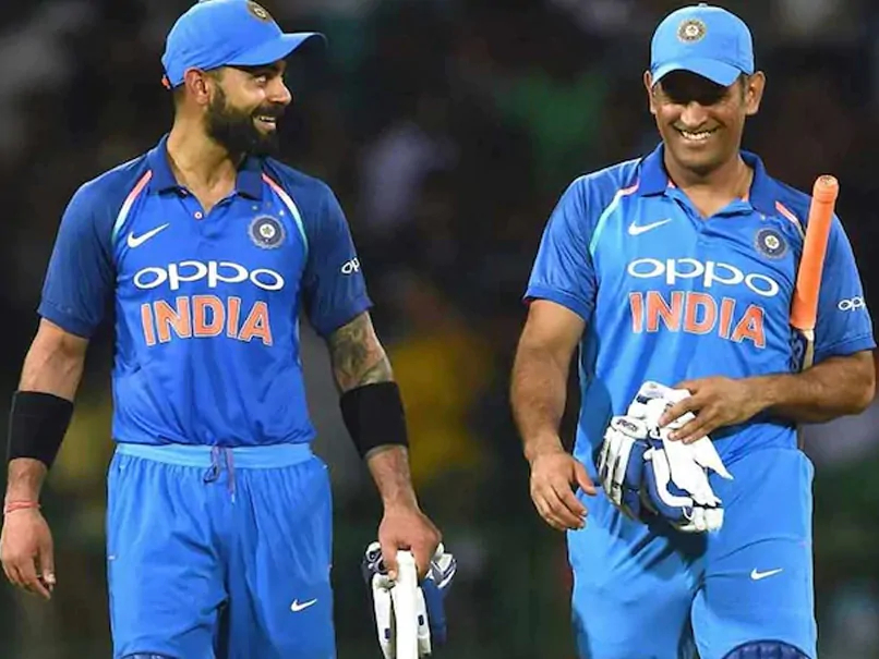 Virat Kohli and MS Dhoni | AFP