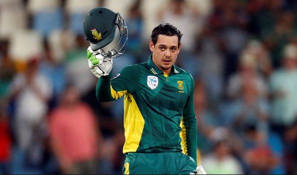Quinton de Kock will play 100th ODI of his career against Pakistan in Johannesburg (photo - getty)
