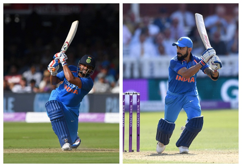 Suresh Raina and Virat Kohli added 80 runs for the 4th wicket | Getty