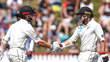 NZ v SL 2018-19: Tom Latham thanks Kane Williamson for taking pressure off him