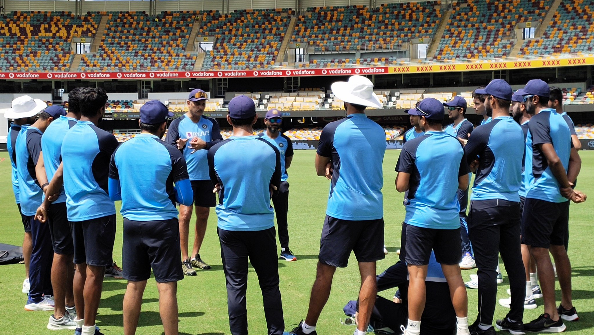Team India in Brisbane | BCCI Twitter