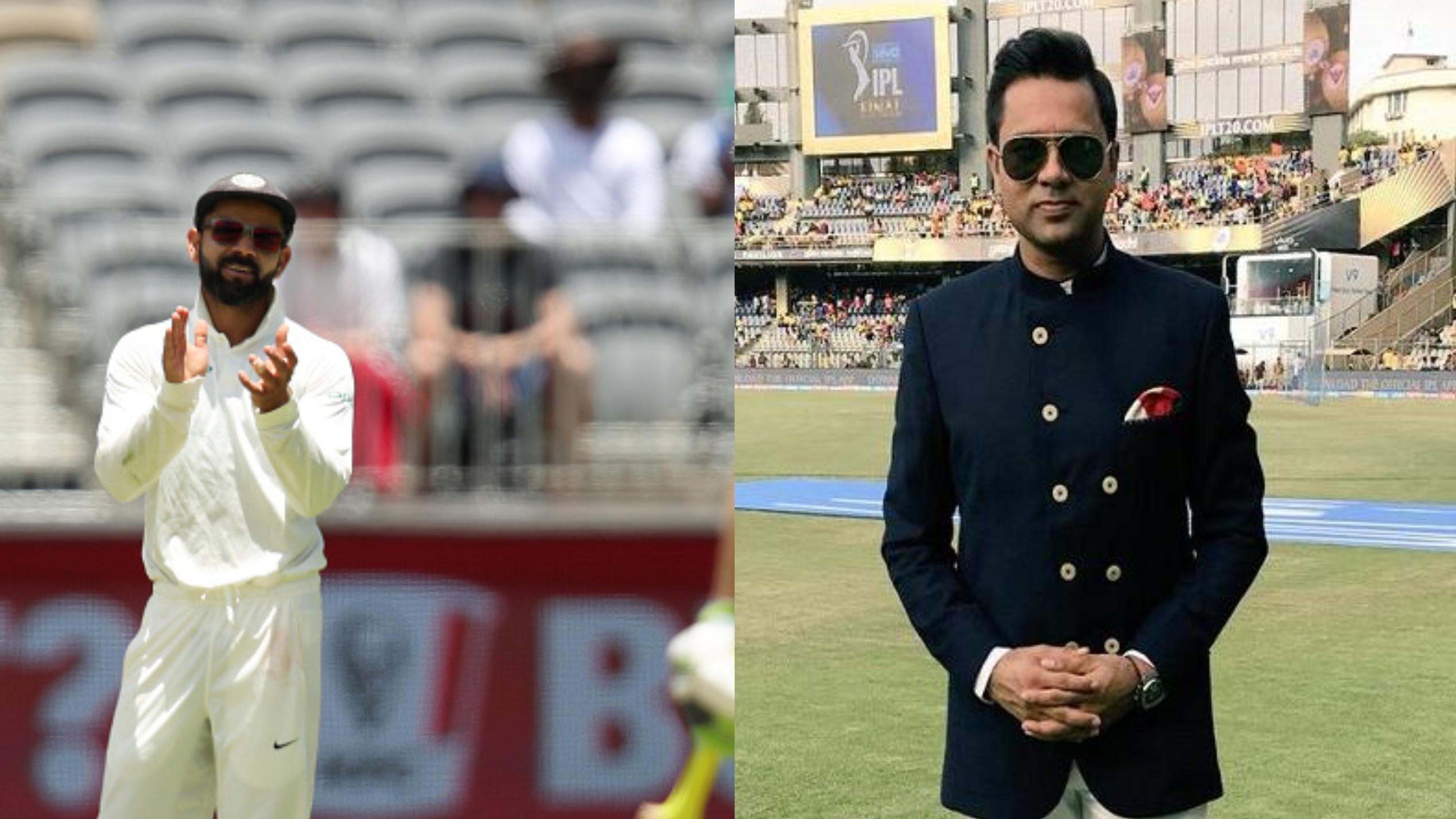 AUS v IND 2018-19 : आकाश चोपड़ा ने विराट कोहली का समर्थन करते हुए ऑस्ट्रेलिया को पहले अपने व्यवहार को देखने को कहा
