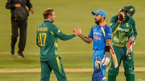 एबी डीविलियर्स ने सीरीज कि जीत पर टीम इंडिया को दी बधाई