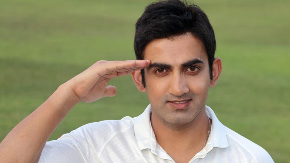 Gautam Gambhir posts a moving tweet after Kargil martyr's son joins dad's battalion