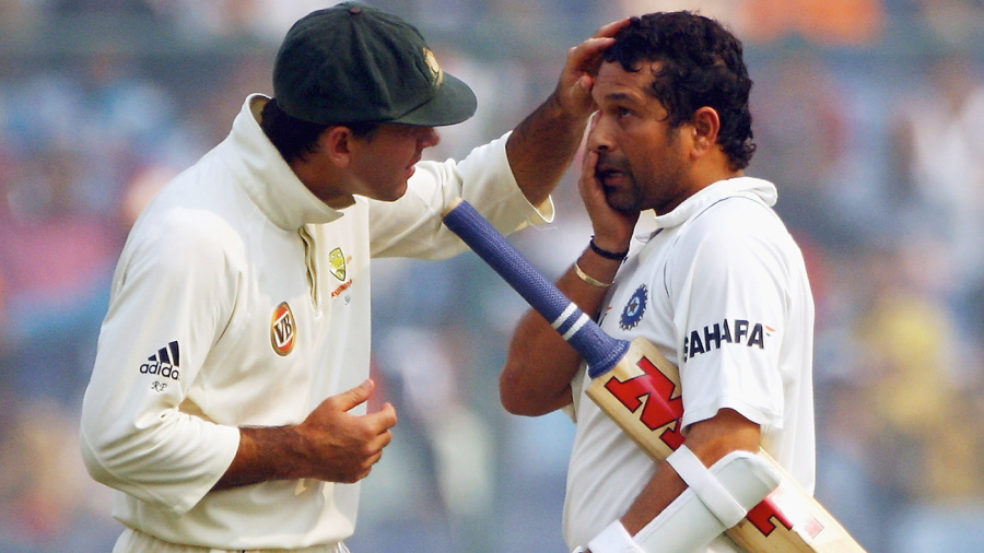 Sachin Tendulkar and Ricky Ponting | AFP