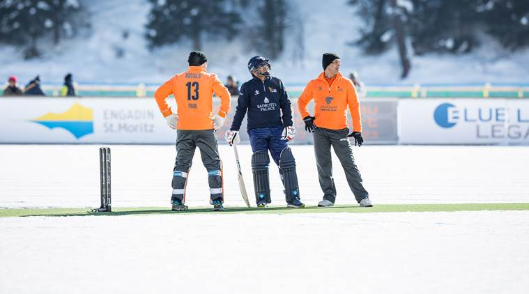 Virender Sehwag scored 62 off 31 balls in the inaugural Ice Cricket match | Twitter