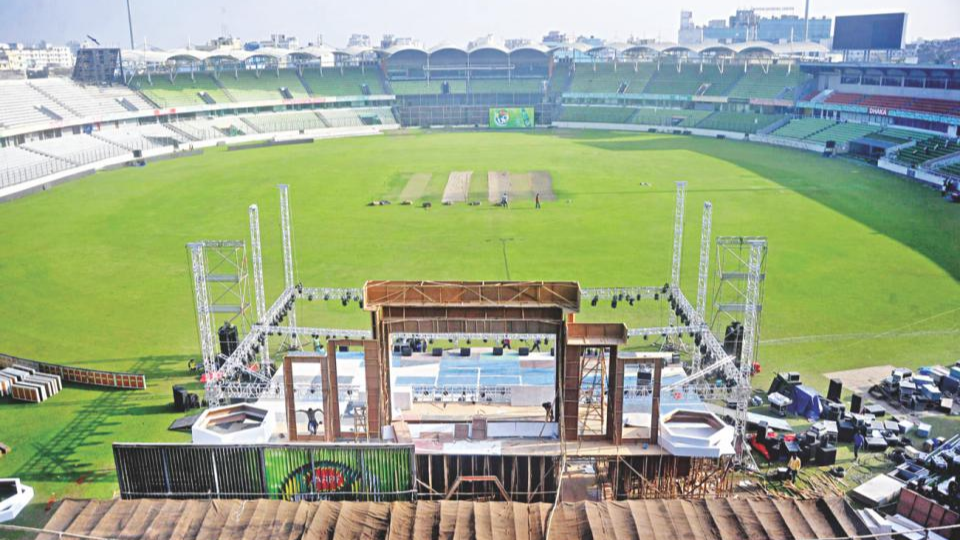 Bangladesh planning for a bigger stadium than Eden Gardens