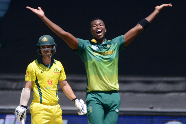 Ngidi picked up seven scalps in three ODIs against Australia | Getty Images