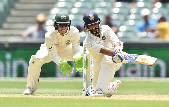 Ajinkya Rahane scored 70 in the second innings at Adelaide | Getty Images