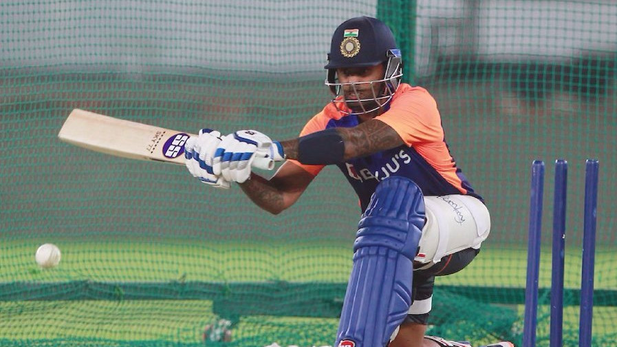 IND v ENG 2021: Suryakumar Yadav 'feels like home' after first net session in India colors