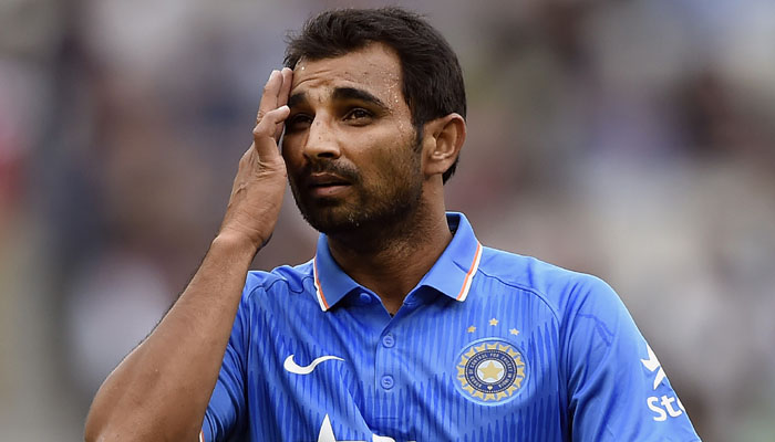 Mohammed Shami criticized for posting picture of a Hindu deity