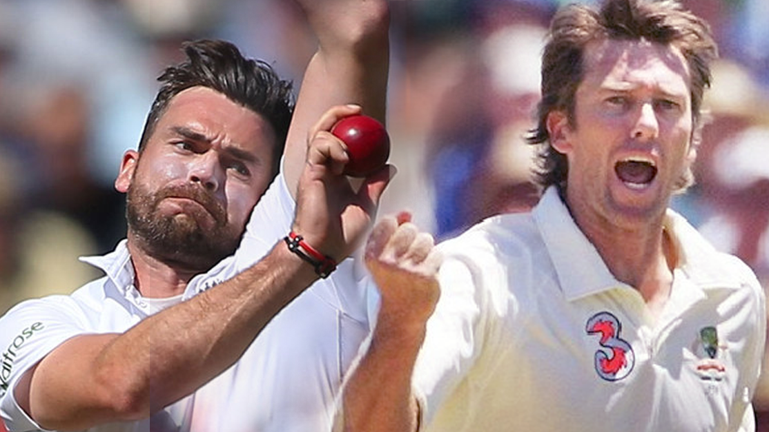 James Anderson v Glenn McGrath - A Statistical Comparison
