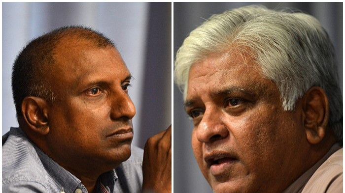 Arjuna Ranatunga, Aravinda de Silva shrug off  match-fixing charges by former SLC Chief