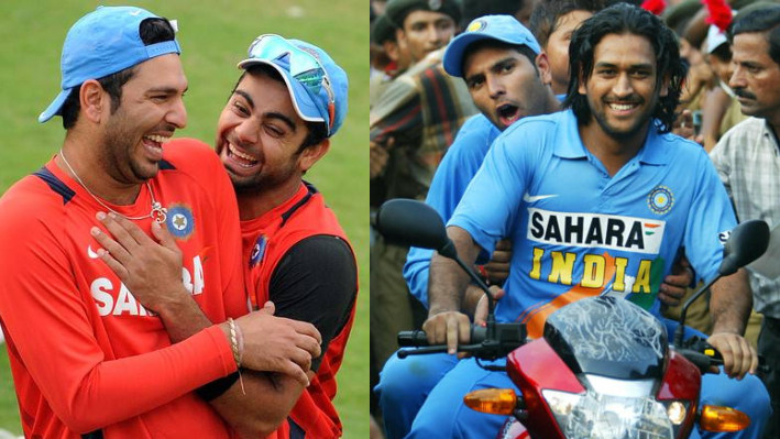 Twitterati react after not finding Dhoni and Kohli in Yuvraj's friendship day video