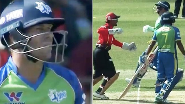 WATCH: David Warner's BPL debut ruined by a comical run-out