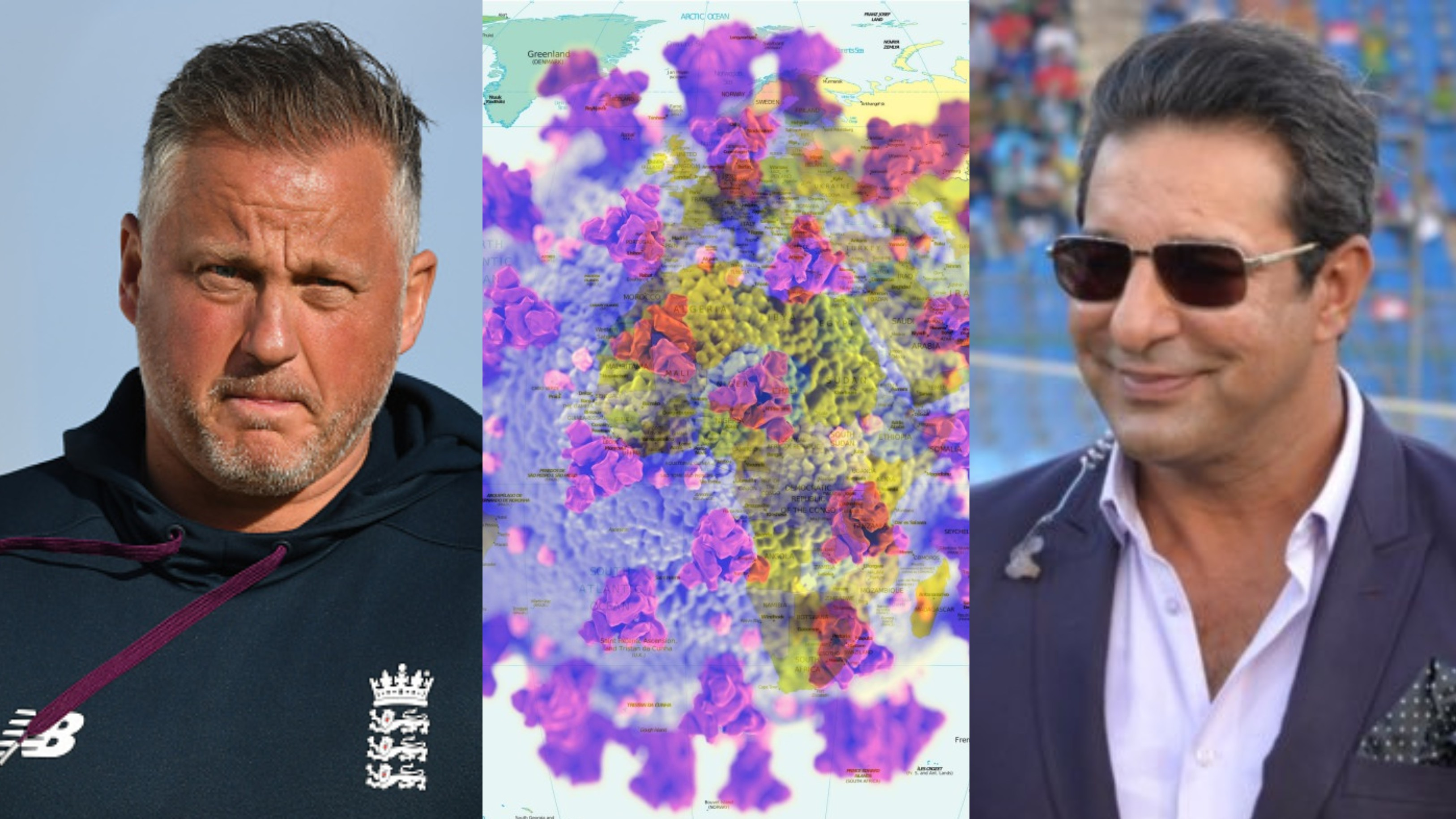 Wasim Akram and Darren Gough to auction memorabilia to raise funds for Coronavirus fight