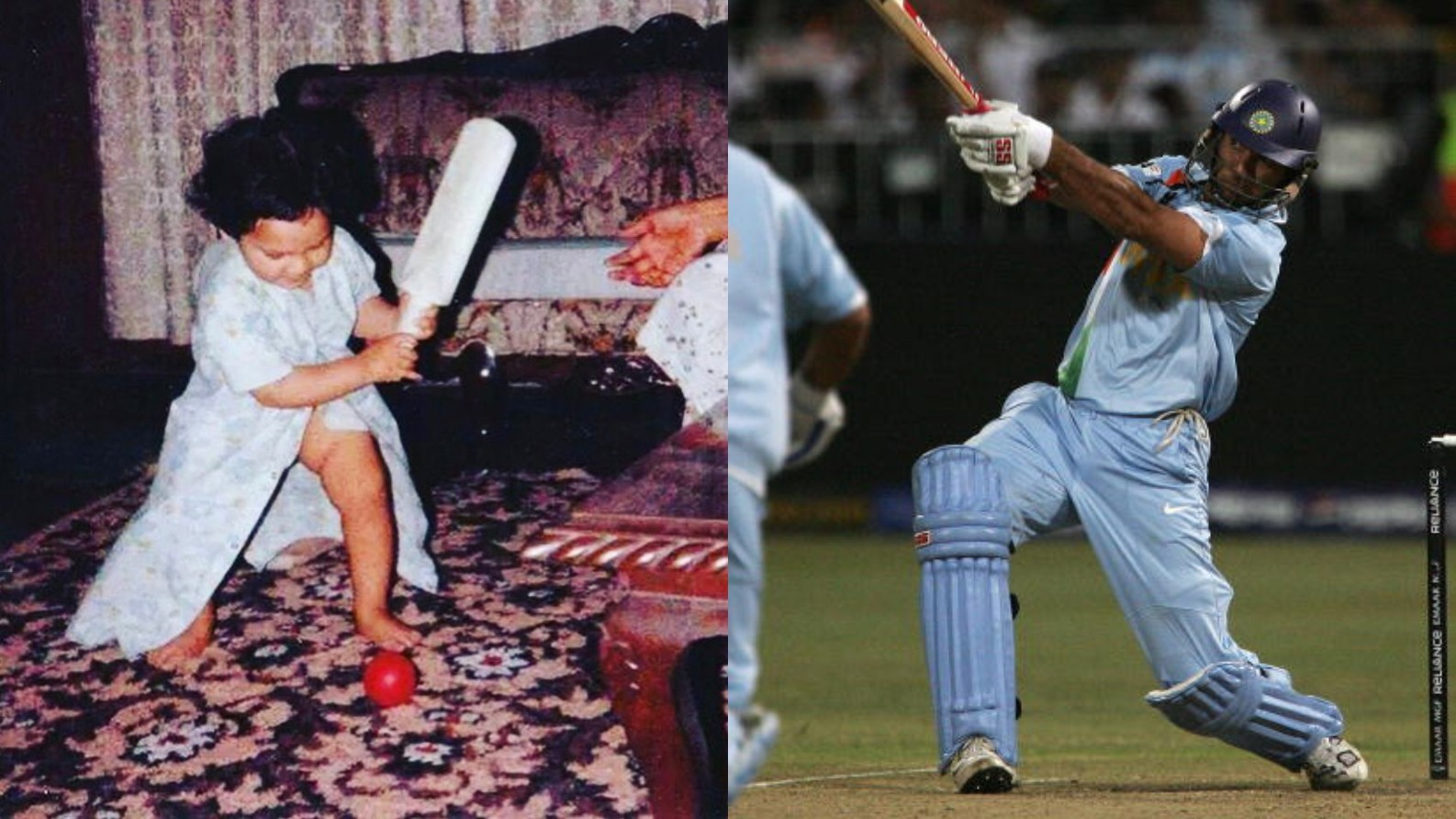 Yuvraj Singh posts an adorable picture on the 12th anniversary of his 6 sixes off Stuart Broad