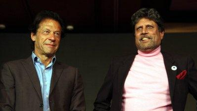 Kapil Dev congratulates Imran Khan on becoming the Prime Minister of Pakistan