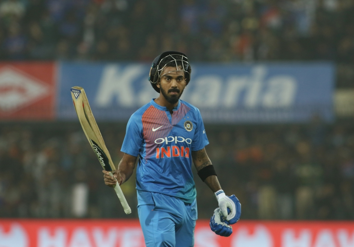 KL Rahul at no.3 is the highest ranked Indian batsman in T20I rankings | AFP