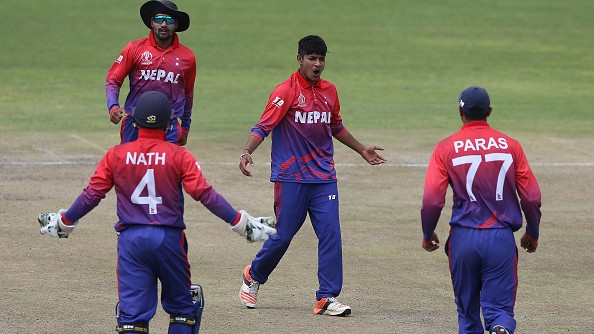 Lamichhane claims 6 wickets as Nepal bowl USA out for joint-lowest total in ODI history