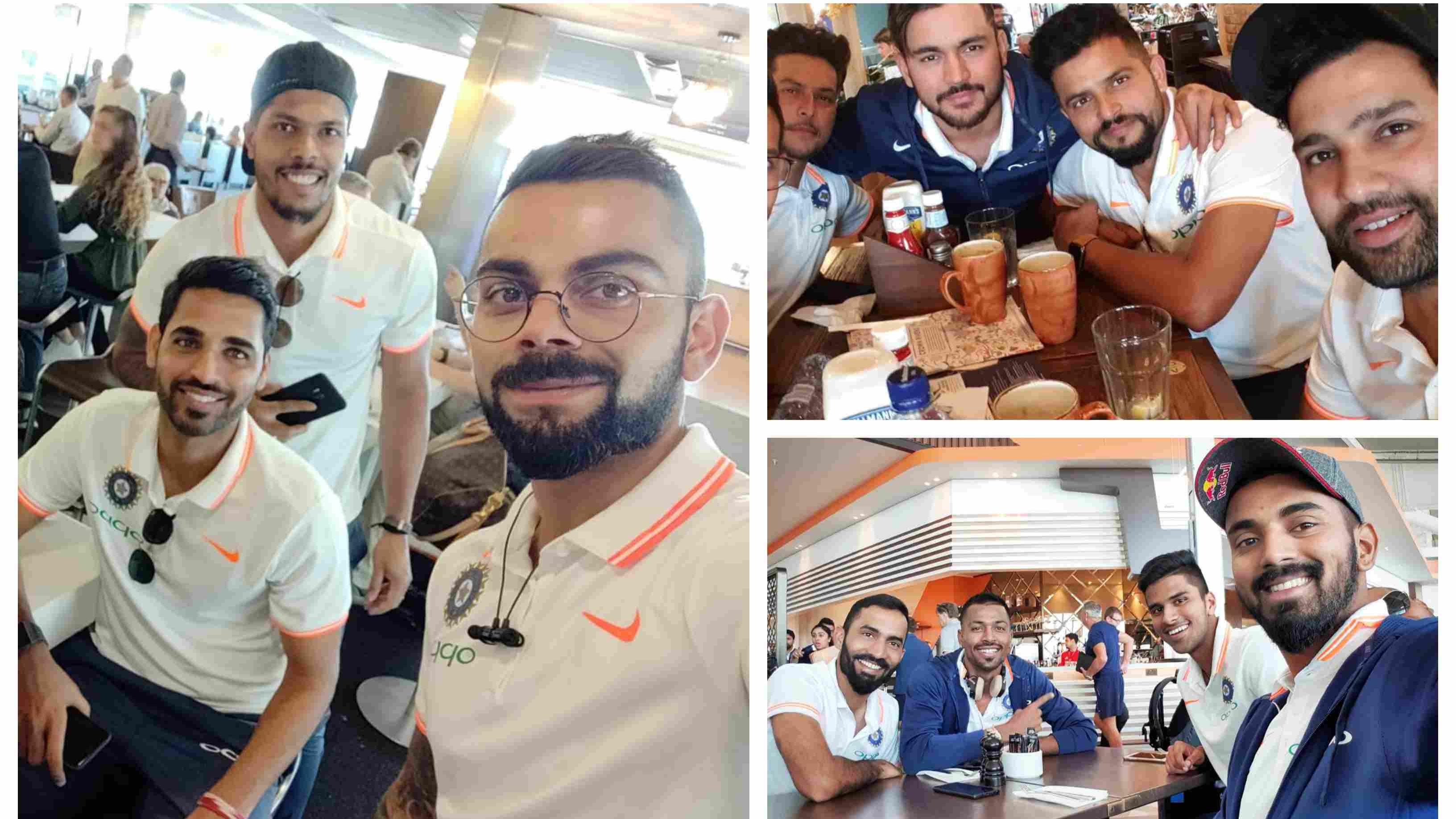 IRE v IND 2018: In Pics – Team India players head off to Ireland for two T20Is