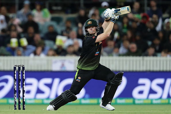 Smith plays shot against Pakistan | Getty Images