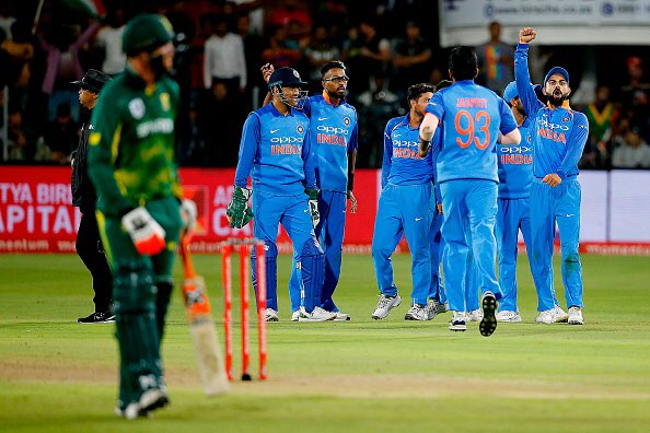 Twitter reacts to India's historic ODI series win against South Africa