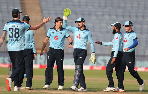 Jos Buttler said England are not panicking despite losing all three series in India   Getty Images