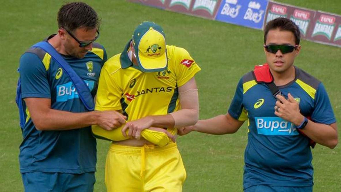 PAK v AUS 2019: Jhye Richardson ruled out of the Pakistan ODI series with shoulder injury