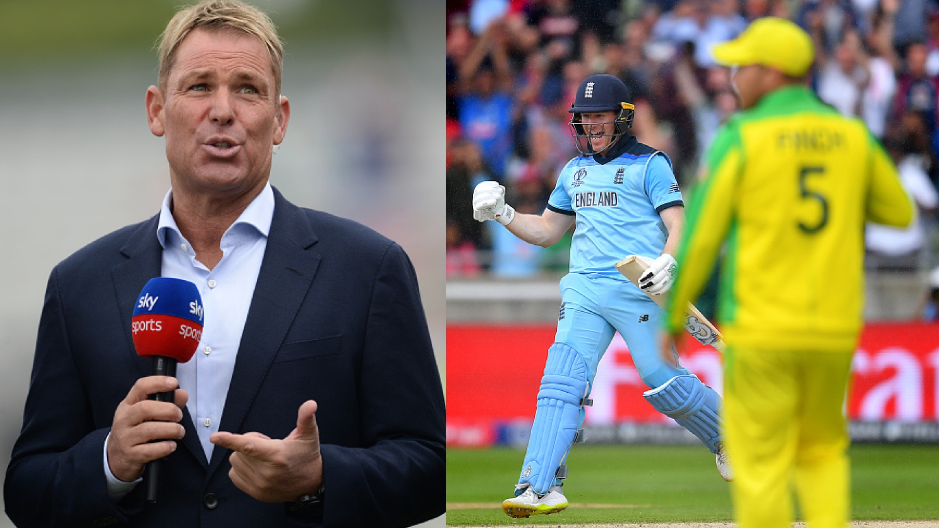 CWC 2019: Shane Warne reacts to Australia's semi-final loss to England