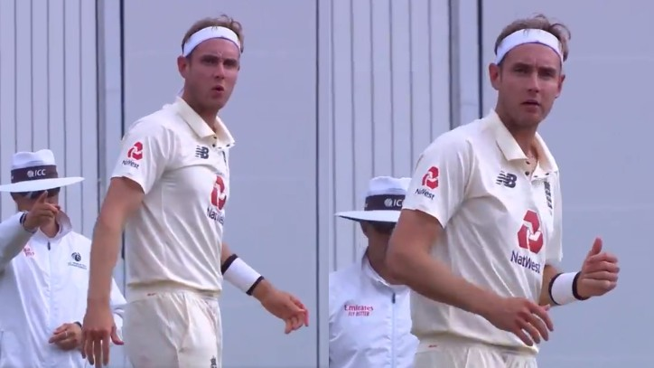 ENG v PAK: WATCH- Confused Stuart Broad misses umpire giving decision on Shan Masood