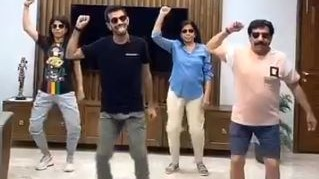 WATCH- Yuzvendra Chahal slays dance moves with his family amid the COVID-19 lockdown