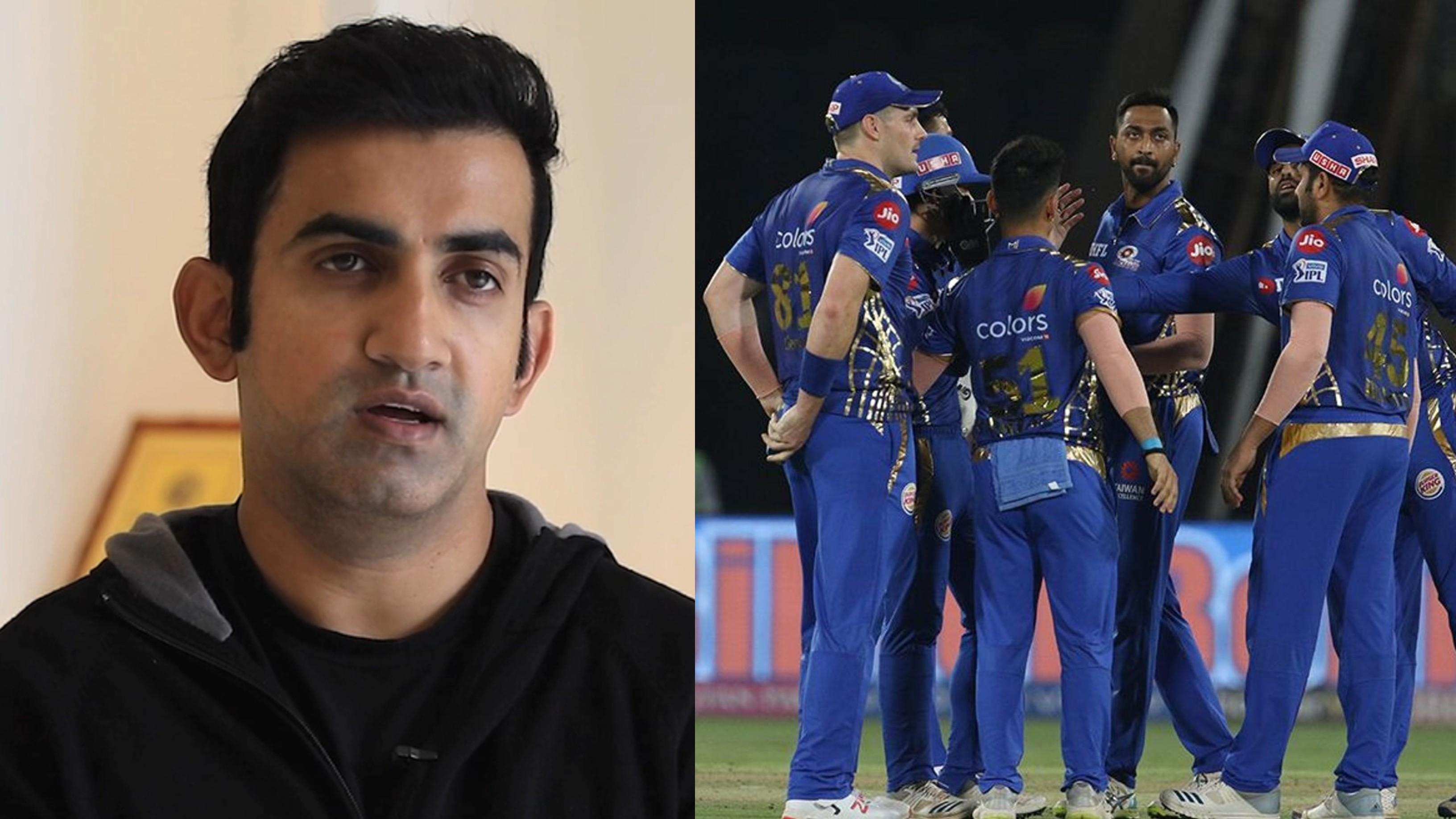 IPL 2020: Gautam Gambhir explains how opposition can stop Mumbai Indians