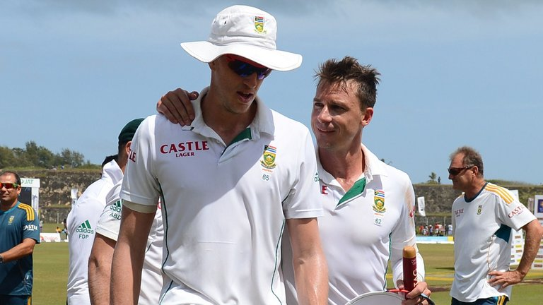 Morne Morkel and Dale Steyn are the strike bowlers for South Africa