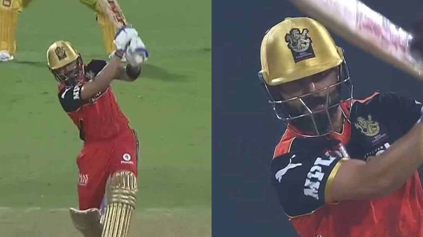 IPL 2021: WATCH – Virat Kohli smashes Shardul Thakur for a 'no-look six' over deep mid-wicket
