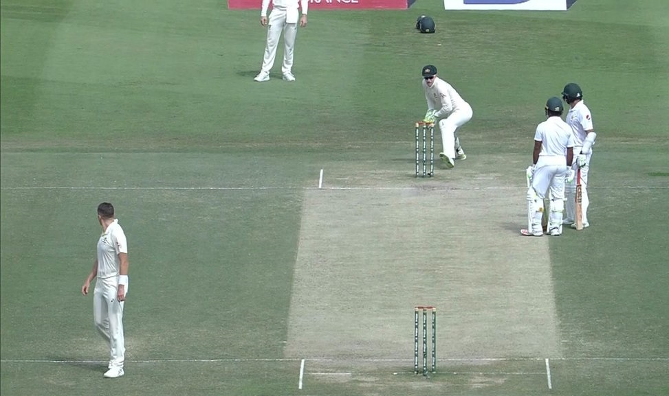 Azhar Ali run-out | Screengrab