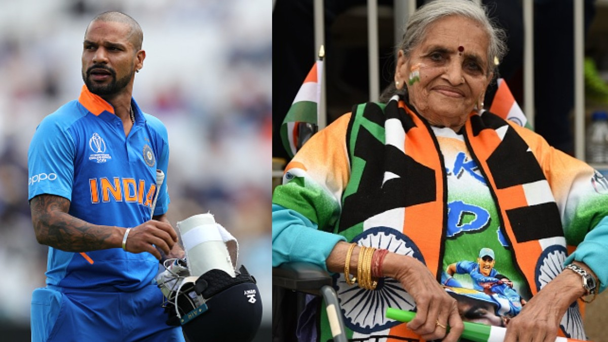 Shikhar Dhawan pays tribute to Team India's