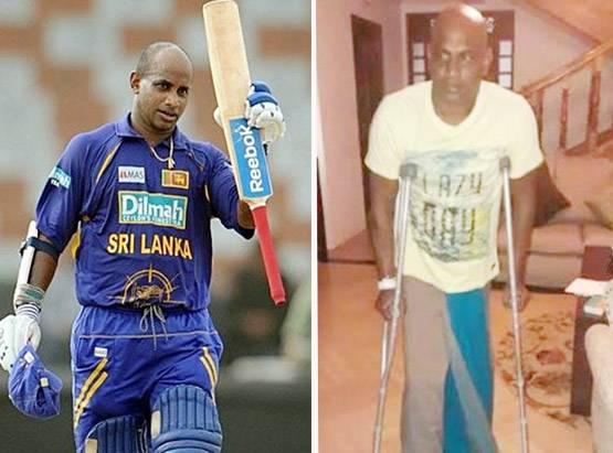सनथ जयसूर्या घुटने की चोट का ओपरेशन होने के बाद हो रहे हैं ठीक