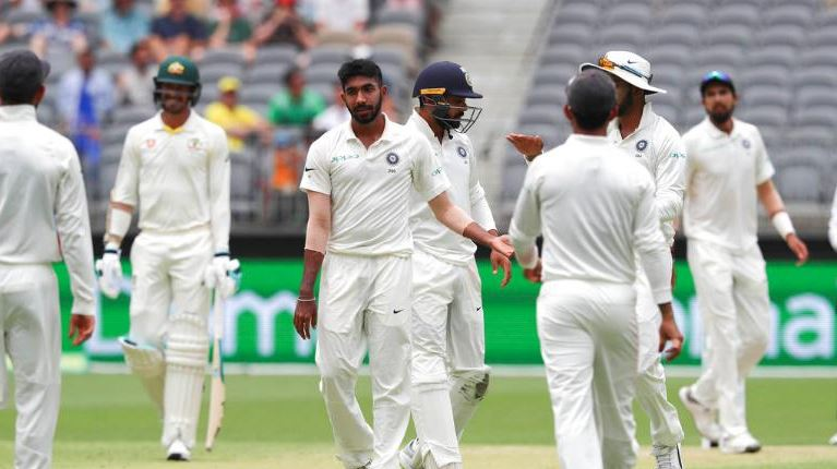 Bumrah came on and immediately dismissed both Paine and Cummins | Getty