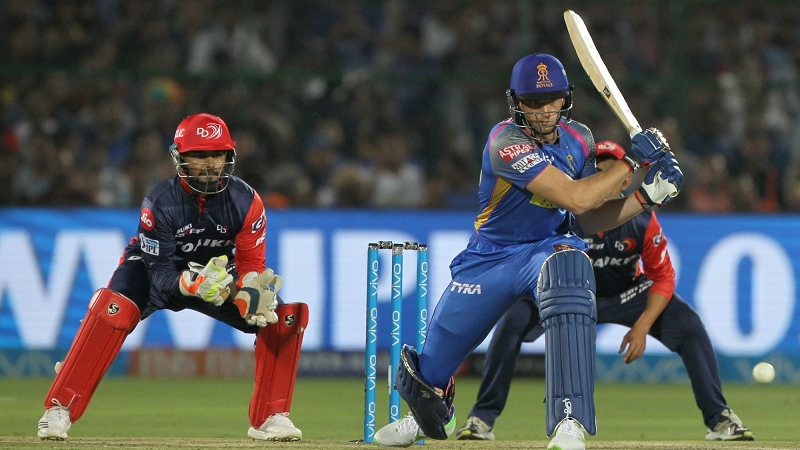 IPL 2018: Match 6 – RR v DD – RR bowlers clinch a rain marred encounter, as DD batting falters