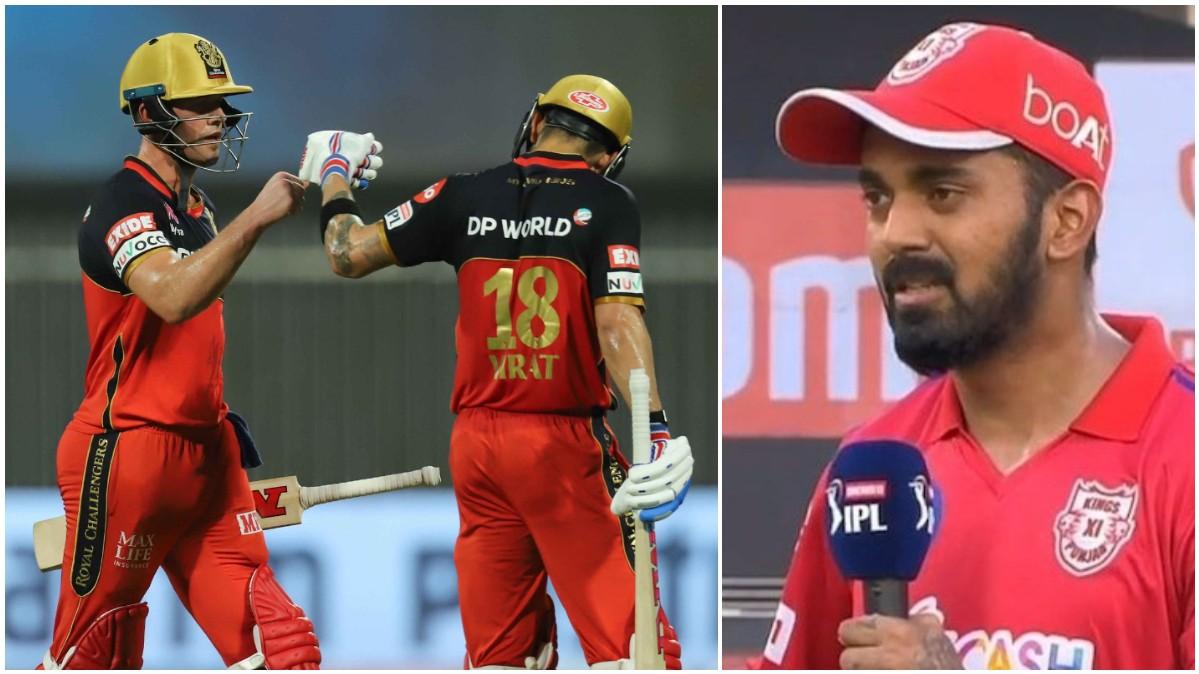 IPL 2020: WATCH - KL Rahul cheekily asks for a ban on Kohli-De Villiers before match against KXIP
