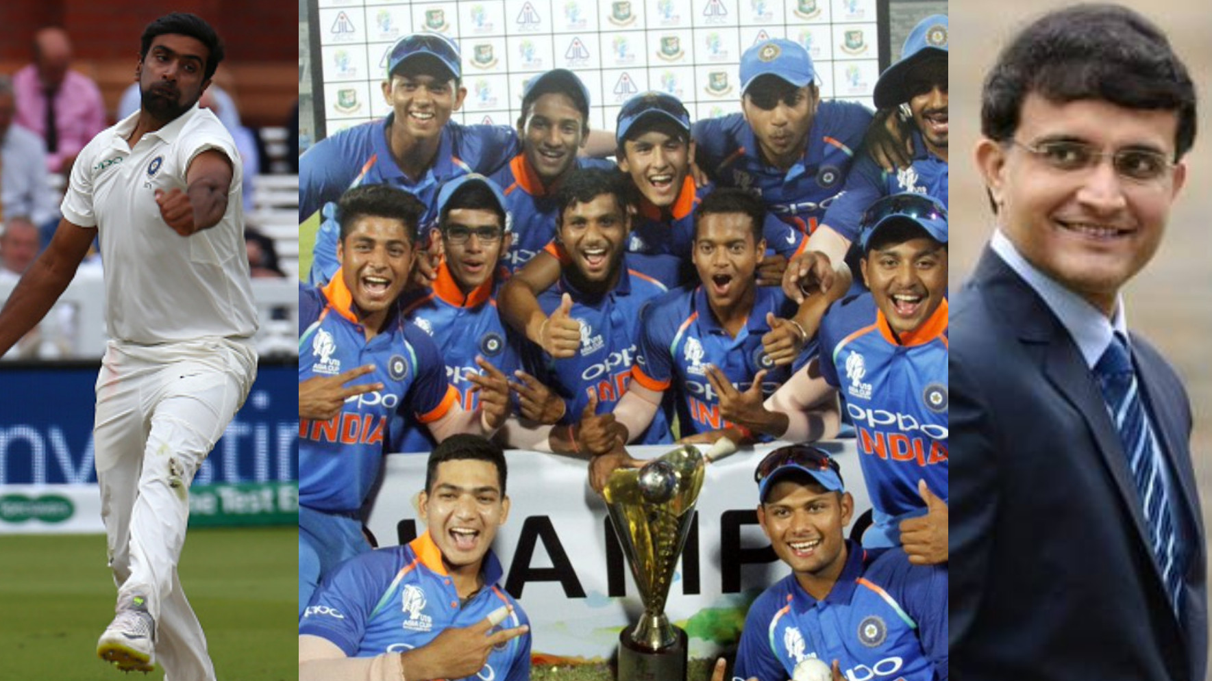 India U19 gets lauded by Indian cricket fraternity for their Youth Asia Cup 2018 triumph