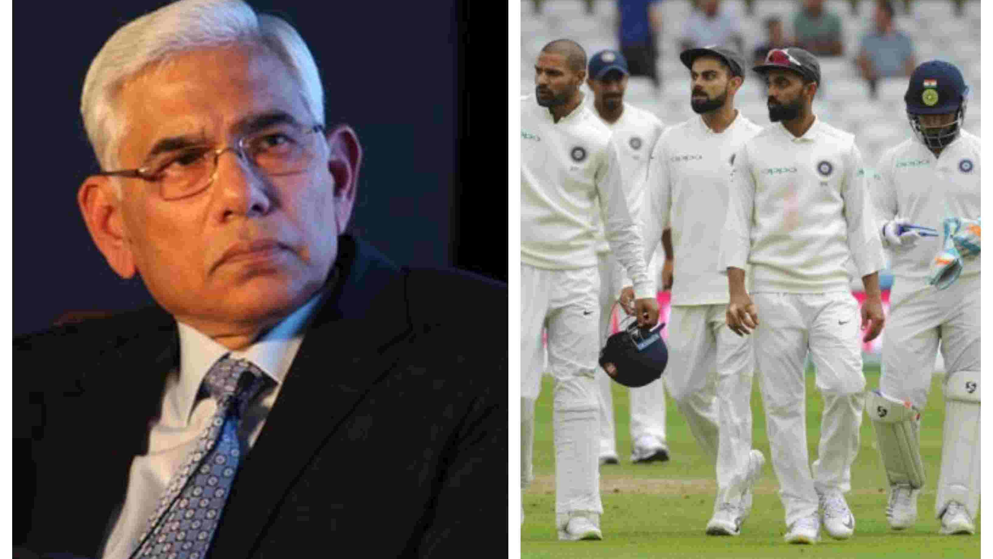 ENG v IND 2018: Indian players' performance will be reviewed after team manager submits report, confirms Vinod Rai
