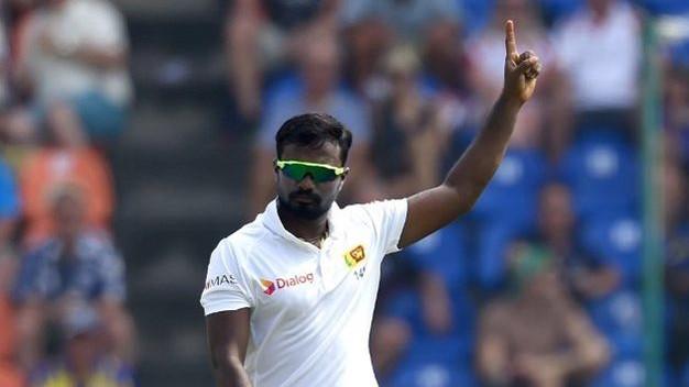 श्रीलंकन ऑफ-स्पिनर मालिंदा पुष्पकुमारा ने एक पारी में 10 विकेट लेने का किया कारनामा