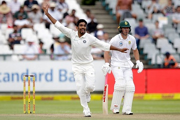 Jasprit Bumrah gave India an outside chance in the Test