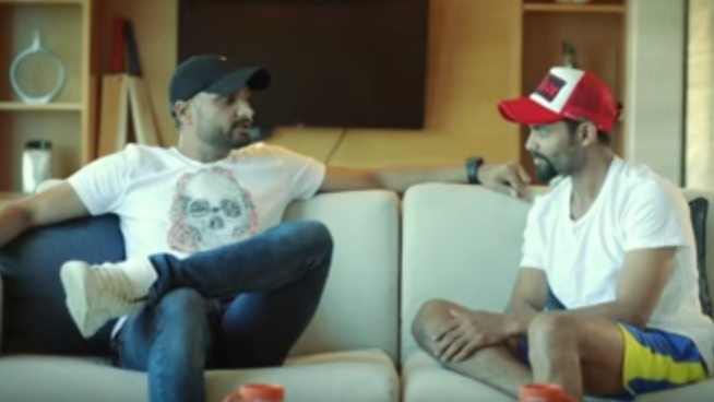 WATCH: Harbhajan Singh and Ravindra Jadeja funnily discuss their struggle with English language